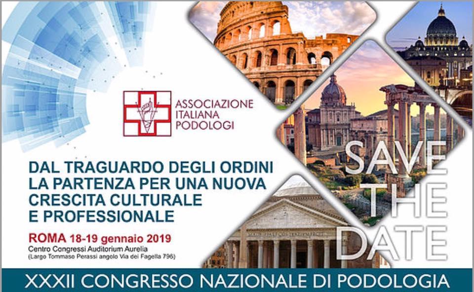 XXXII Congresso nazionale di podologia
